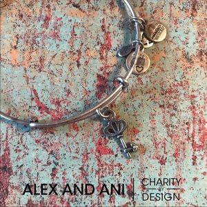 Alex and Ani Key Bangle